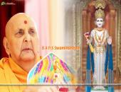 B A P S Swaminarayan Wallpaper,