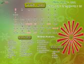 Brahma Kumaris January 2016 Hindu Calendar Wallpaper,
