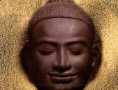 Buddha image, brown color