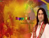 Devkinandanji Maharaj Wishes Holi Wallpaper,