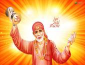 Jai Sai Ram Wallpaper,
