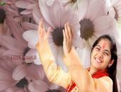 Jaya Kishori Ji Wallpaper,