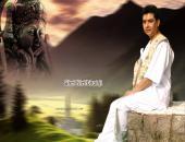 Kiritbhai ji  wallpaper , brown , white and green color