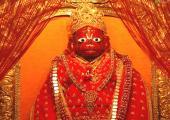 Lord Hanuman, bala ji, red color