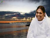 Mata Amritanandamayi Devi  wallpaper , gray and white color