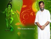 nandu bhaiya ji, green and red color