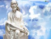 Om Sai Ram Wallpaper,