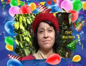 Osho Maa Priya Birthday Wallpaper,