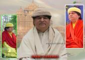Vishawas Meditation images, white, gray and green color