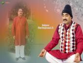 Sadguru Satyanand ji Wallpaper, Green, Orange and White Color