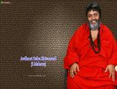 Shivanandji Maharaj wallpaper , brown and red color