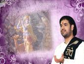 Shri Gaurav Krishan ji wallpaper,white and purple color