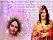 Shri Radhe Maa Wallpaper,