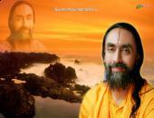 Swami Mukundananda ji  wallpaper, orange , yellow and brown color