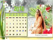 Swamini Pramananda March 2016 Monthly Calendar Wallpaper,