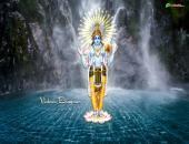 Vishnu Bhagwan Wallpaper,
