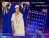 Vishvas Meditation May 2016 Monthly Calendar Wallpaper,