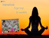 Yoga Day Wallpaper,